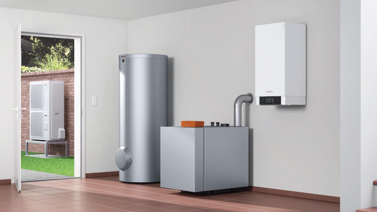 Viessmann Hybris Heat Pump System home